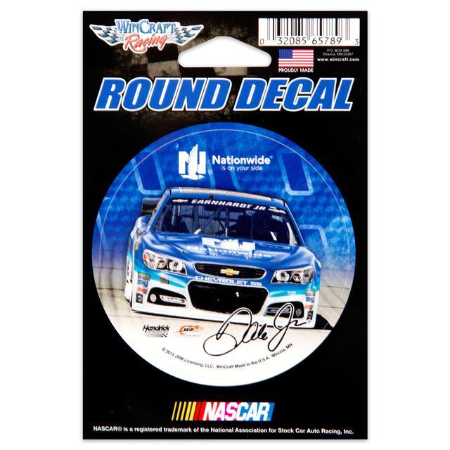 "Hendrick Motorsports Dale Jr. 3"" x 3"" Decal"