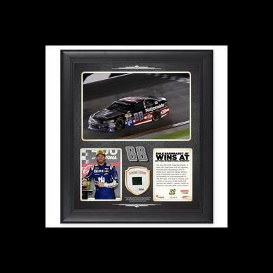 Hendrick Motorsports Dale Jr. 2015 Daytona Race Win Framed 15'' x 17'' Collage With Race-Used Tire