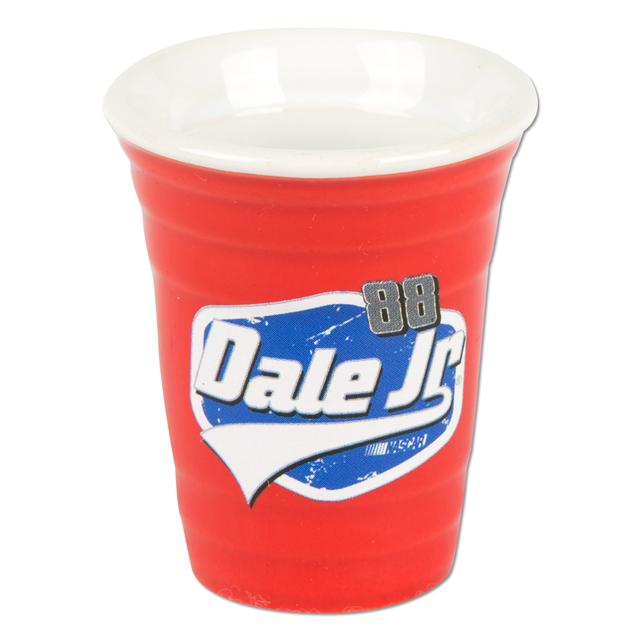 Hendrick Motorsports Dale Jr. 2 oz. Red Solo Cup Collectors Shot Glass