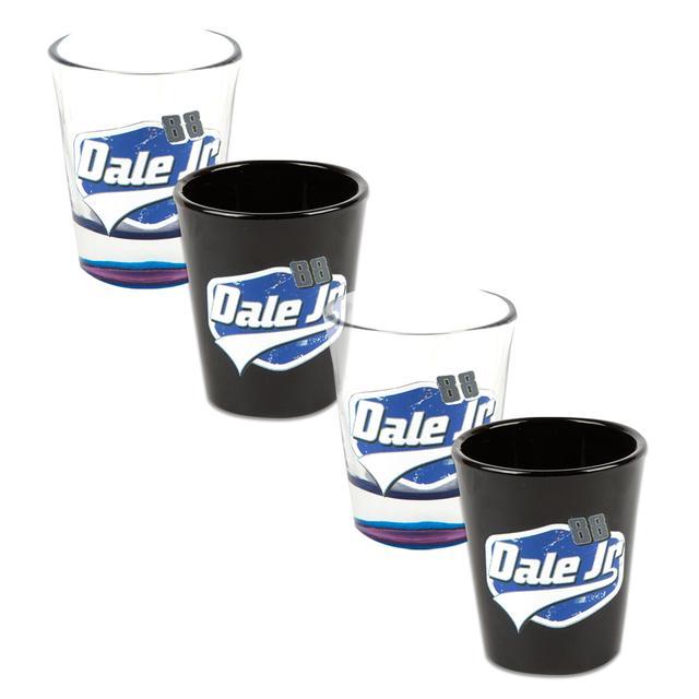 Hendrick Motorsports Dale Jr. 4pc Shot Glass Set