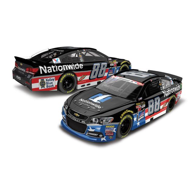 Hendrick Motorsports Dale Jr. 2015 #88 Nationwide Salutes 1:24 Scale Nascar Sprint Cup Series Die-Cast