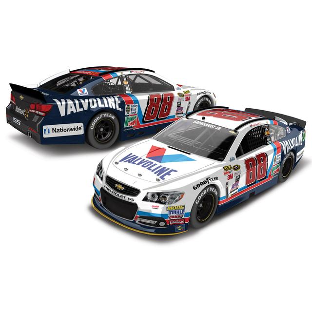 Hendrick Motorsports Dale Jr. 2015 #88 Valvoline Throwback 1:24 Scale Nascar Sprint Cup Series Die-Cast