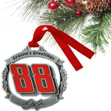 Hendrick Motorsports Dale Jr. #88 Season's Greeting Ornament
