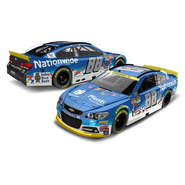 Hendrick Motorsports Dale Jr. 2015 #88 Plenti Chevrolet SS 1:24 Scale Nascar Sprint Cup Series Die-Cast