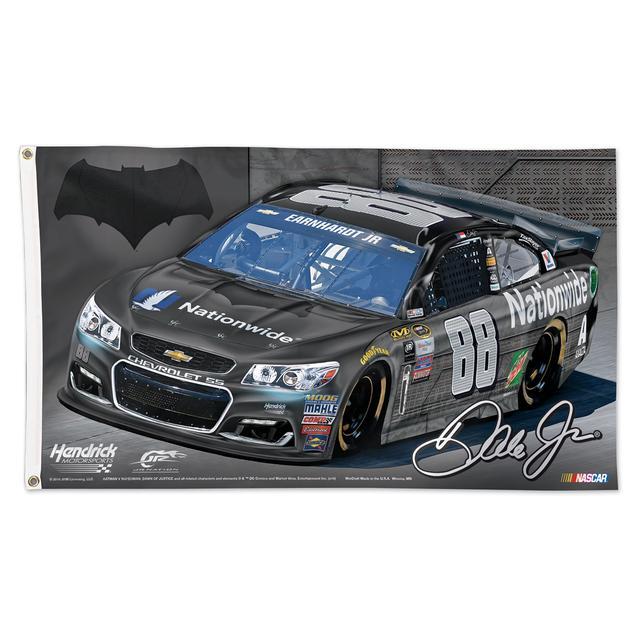 Hendrick Motorsports Dale Jr. #88 Batman 3' x 5' Deluxe Flag