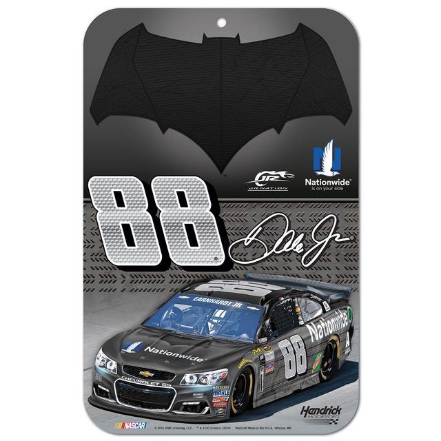 "Hendrick Motorsports Dale Jr. #88 Batman 11"" x 17"" Styrene sign"