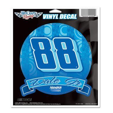 "Hendrick Motorsports Dale Jr. #88 5"" Vinyl Decal"