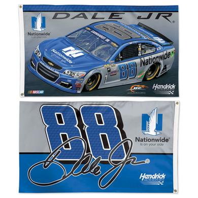 Hendrick Motorsports Dale Jr. #88 2 Sided 3' x 5' Flag