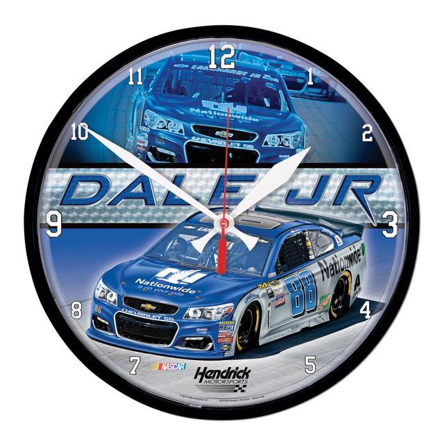 Hendrick Motorsports Dale Jr. #88 Round Clock