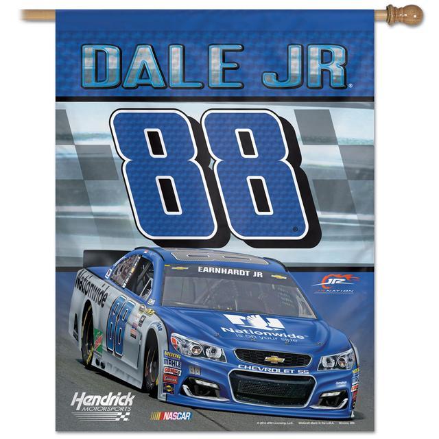 """Hendrick Motorsports Dale Jr. #88  Vertical Flag 27"""" x 37"""""""