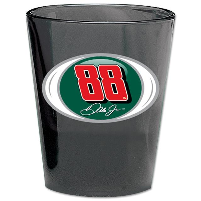 Hendrick Motorsports Dale Jr 2oz AMP Black Collector's Glass