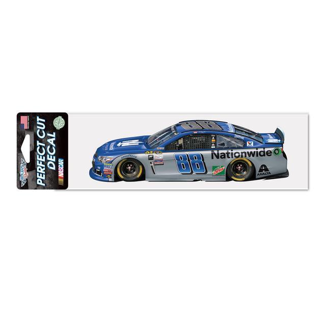 "Hendrick Motorsports Dale Jr. #88 Perfect Cut Decal 3"" x 10"""