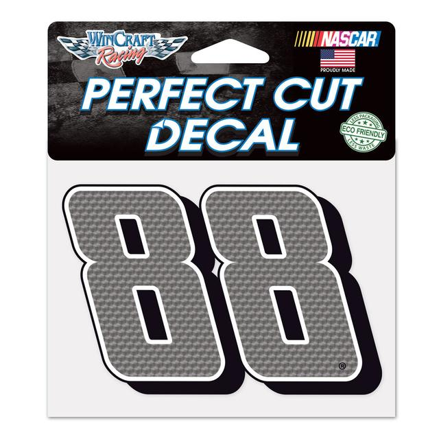 "Hendrick Motorsports Dale Jr. #88 Perfect Cut Decal 4.5"" x 5.75"""