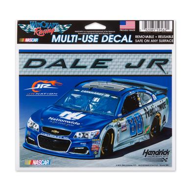 "Hendrick Motorsports Dale Jr. #88 Multi-Use Colored Decal 5"" x 6"""
