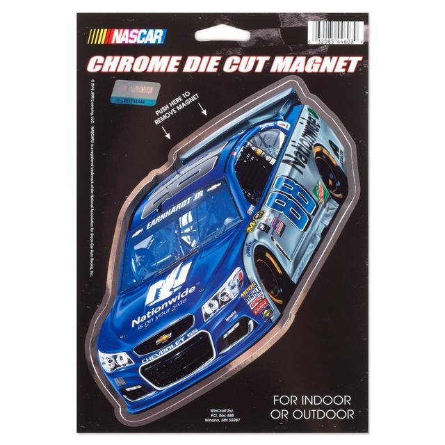 Hendrick Motorsports Dale Jr. #88 6x9 Chrome Magnet