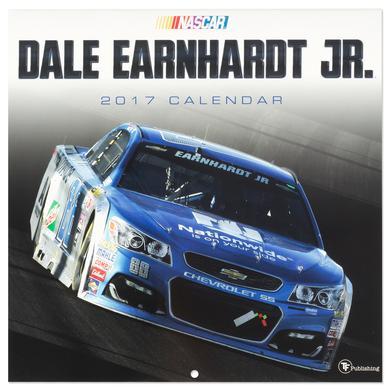 "Hendrick Motorsports Dale Jr. #88 2017 12""x 12"" Wall Calendar"