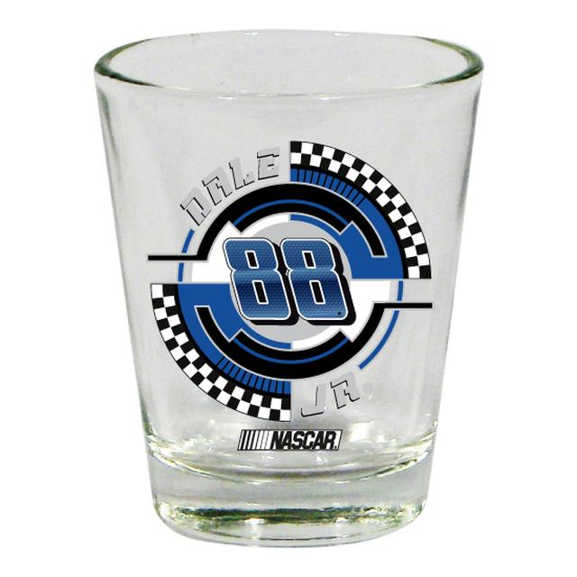Hendrick Motorsports Dale Jr. #88 2 oz. Collector Glass