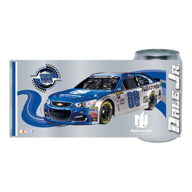 Hendrick Motorsports Dale Jr. #88 Chrome Can Glass Tumbler