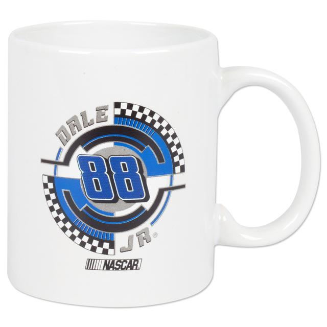 Hendrick Motorsports Dale Jr. #88 C-Handle Mug White