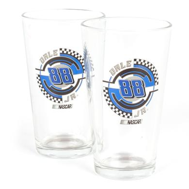 Hendrick Motorsports Dale Jr. #88 2 Pack Mixing Glasses