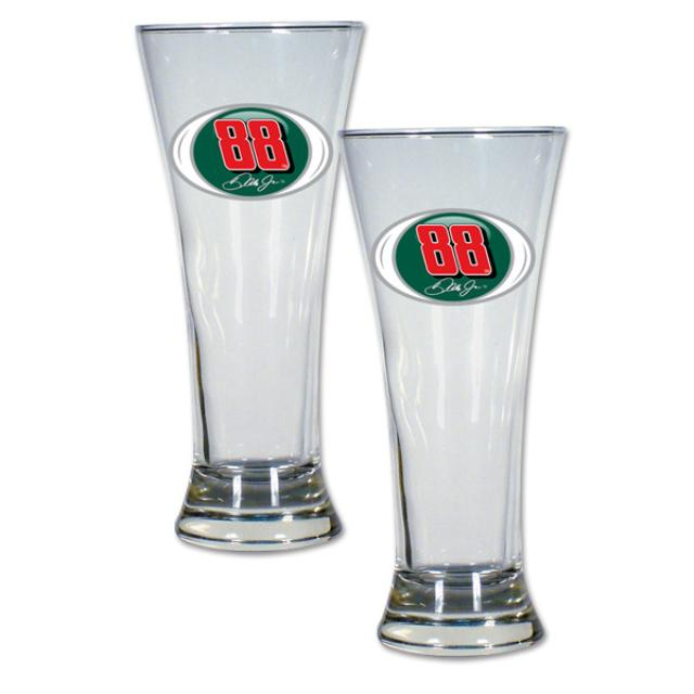 Hendrick Motorsports Dale Jr #88 2 pc Pilsner Glass Gift Set