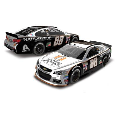 Hendrick Motorsports Dale Jr. 2016 #88 Darlington Nationwide Grey Ghost Retro 1:24 Scale Color Chrome Die-Cast