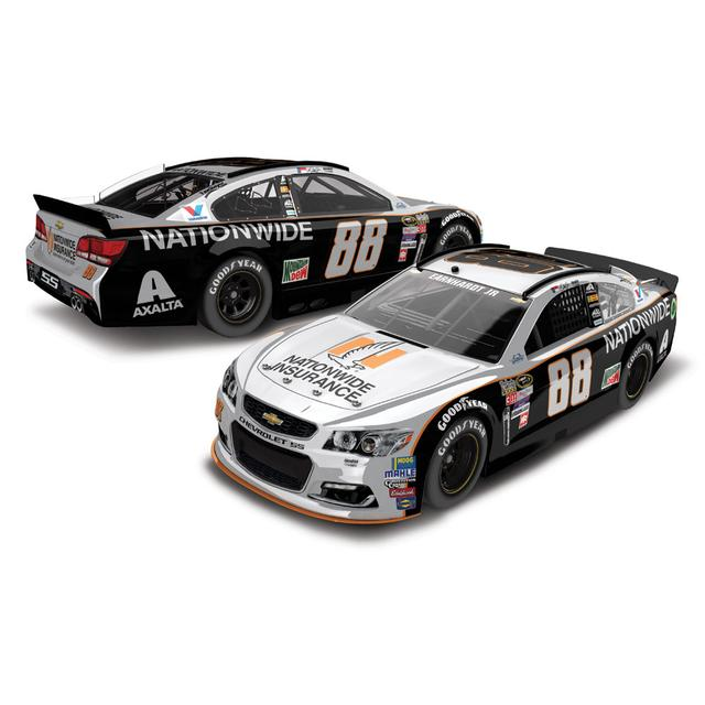 Hendrick Motorsports Dale Jr. 2016 #88 Darlington Nationwide Grey Ghost Retro 1:24 Scale Die-Cast