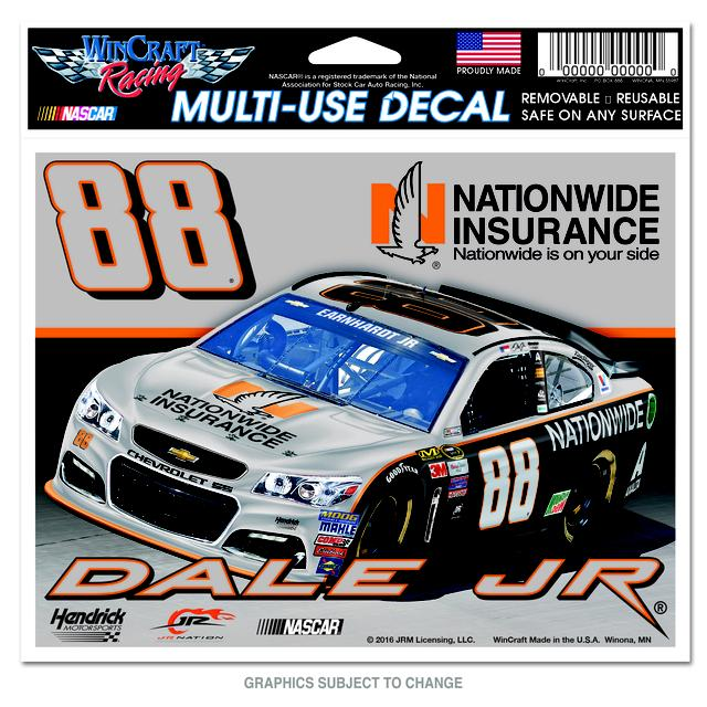 "Hendrick Motorsports Dale Jr. Darlington Retro 5""x6"" Mulit-Use Decal"