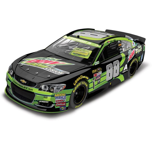 Hendrick Motorsports Dale Jr. 2016 #88 Mountain Dew DEWcision 1:24 Scale Autographed Nascar Sprint Cup Series Die-Cast
