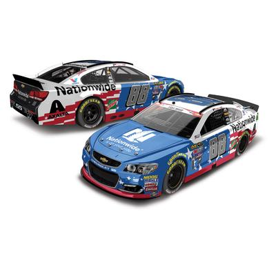 Hendrick Motorsports Dale Jr. 2016 #88 Nationwide Stars & Stripes 1:24 Scale Nascar Sprint Cup Series Die-Cast