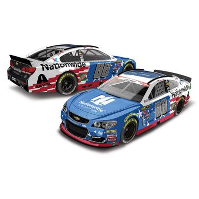 Hendrick Motorsports Dale Jr. 2016 #88 Nationwide Stars & Stripes 1:64 Scale Nascar Sprint Cup Series Die-Cast