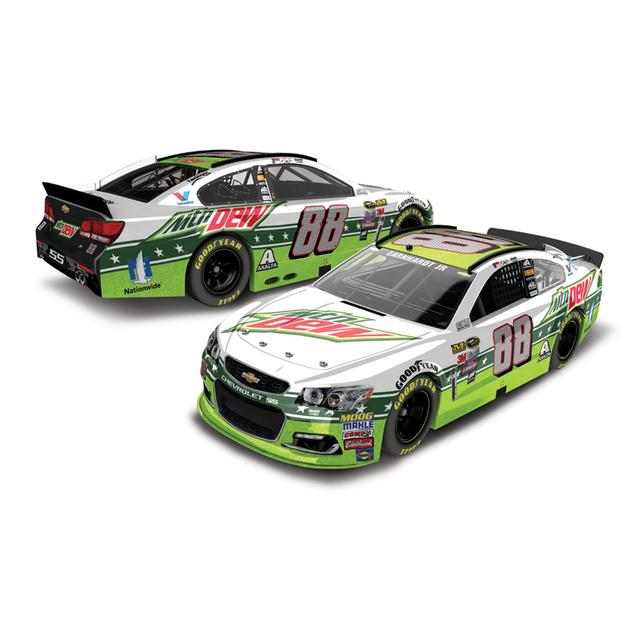 Hendrick Motorsports Dale Jr. 2016 #88 Mountain Dew All-Star 1:24 Scale Nascar Sprint Cup Series Die-Cast