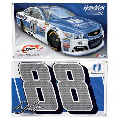 Hendrick Motorsports Dale Earnhardt Jr 2-sided Flag - 3' x 5'