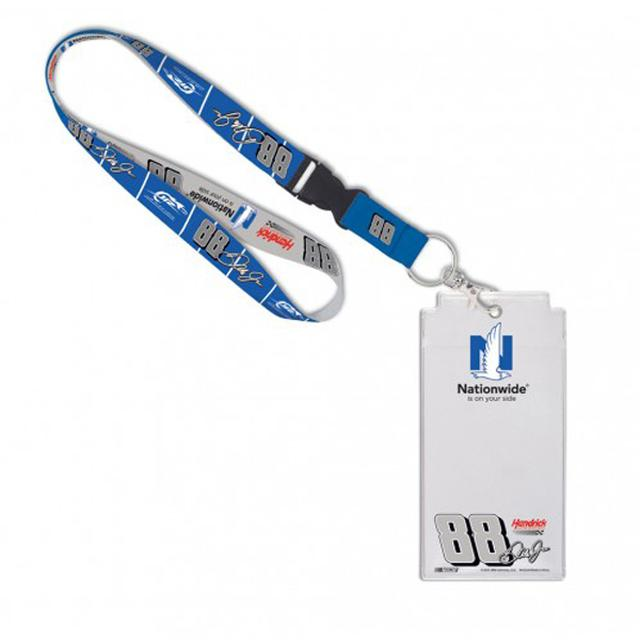 Hendrick Motorsports Dale Earnhardt Jr Nationwide Credential Holder with Lanyard
