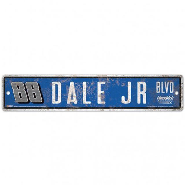 """Hendrick Motorsports Dale Earnhardt Jr Street/Zone Sign - 4.5"""" x 17"""""""