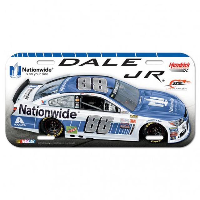 "Hendrick Motorsports Dale Earnhardt Jr License Plate - 6"" x 12"""