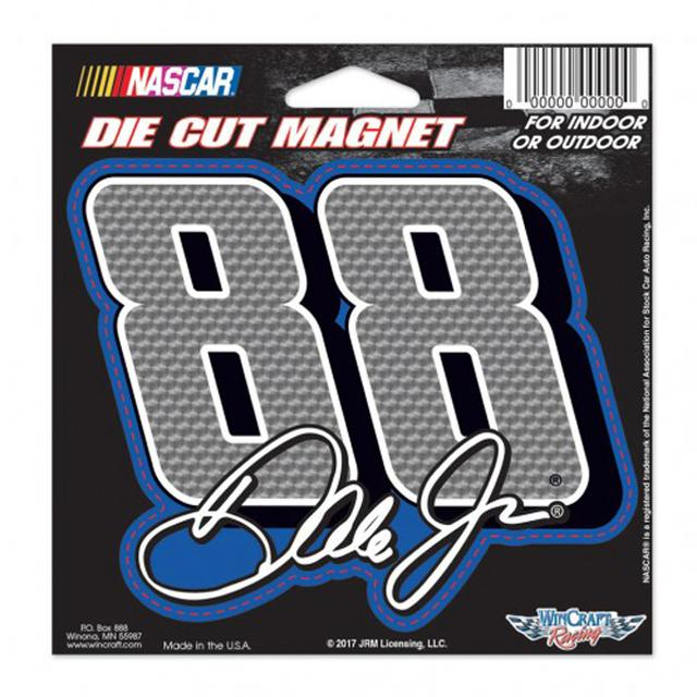 "Hendrick Motorsports Dale Earnhardt Jr Die-Cut Magnet - 4.5"" x 6"""