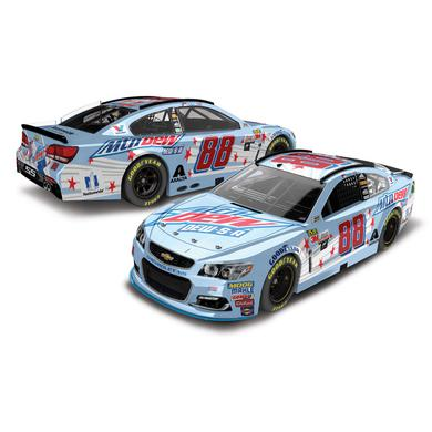 Hendrick Motorsports Dale Earnhardt, Jr. 2017 NASCAR Cup Series No. 88 Mountain Dew/DEW-S-A 1:24 Die-Cast