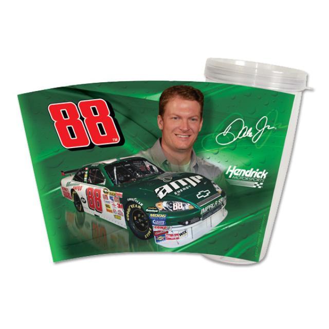 Hendrick Motorsports Dale Jr #88 16 oz Slimline Tumbler