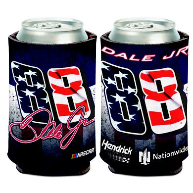 Hendrick Motorsports Dale Earnhardt Jr #88 Patriotic Can Cooler - 12oz
