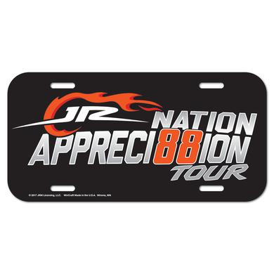 Hendrick Motorsports JR Nation Appreci88ion License Plate