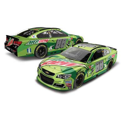 Hendrick Motorsports Dale Earnhardt, Jr. 2017 NASCAR Cup Series No. 88 Mountain Dew 1:24 Die-Cast
