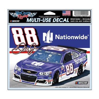 "Hendrick Motorsports Dale Earnhardt Jr 2017 #88 Darlington Multi-Use Decal - 5.75"" x 5.5"""