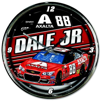 Hendrick Motorsports Dale Jr #88 2017 Homestead/Miami Chrome Clock