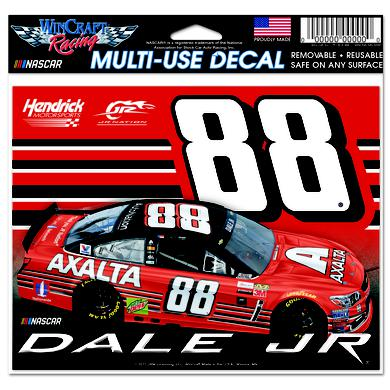 "Hendrick Motorsports Dale Jr #88 2017 Homestead/Miami Multi-Use Decal - 4.5"" x 6"""