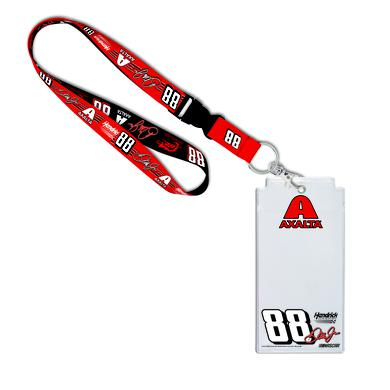 Hendrick Motorsports Dale Jr #88 2017 Homestead/Miami Lanyard with Credential Holder