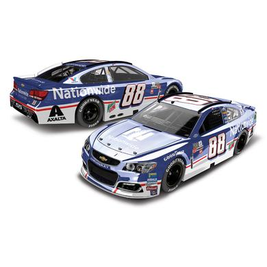 Hendrick Motorsports Dale Earnhardt, Jr. 2017 NASCAR Cup Series No. 88 Nationwide Throwback 1:24 Color Chrome Die-Cast