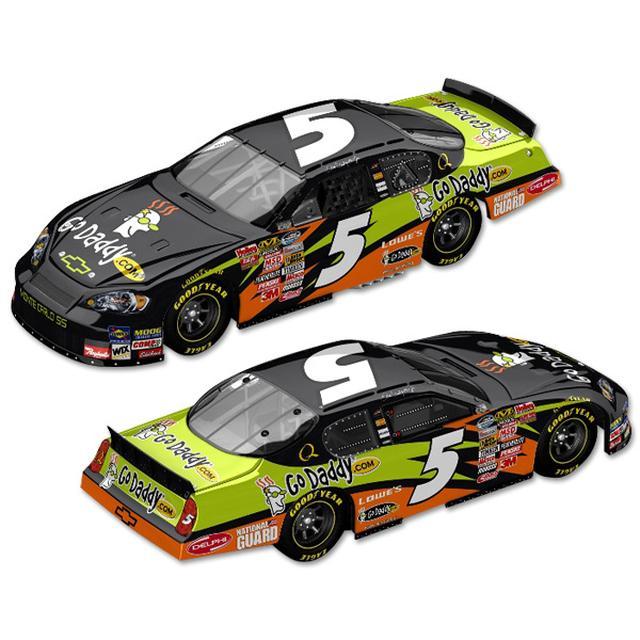 Hendrick Motorsports Dale Jr. #5 GoDaddy.com 1:24 Scale diecast