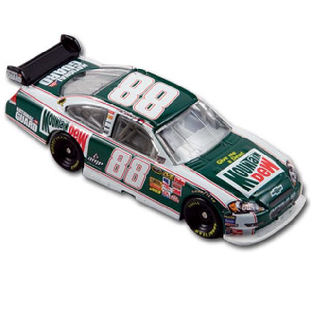 Hendrick Motorsports Dale Jr. #88 Retro Mountain Dew Car 1:64 Kid's diecast