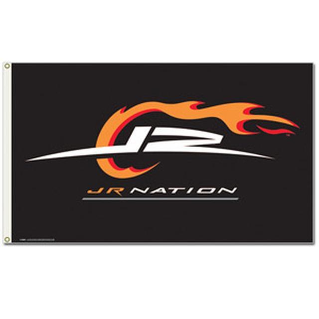 Hendrick Motorsports JR Nation 3 x 5 Foot Black Flag